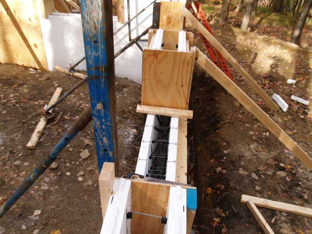 Insulated Concrete Formwork